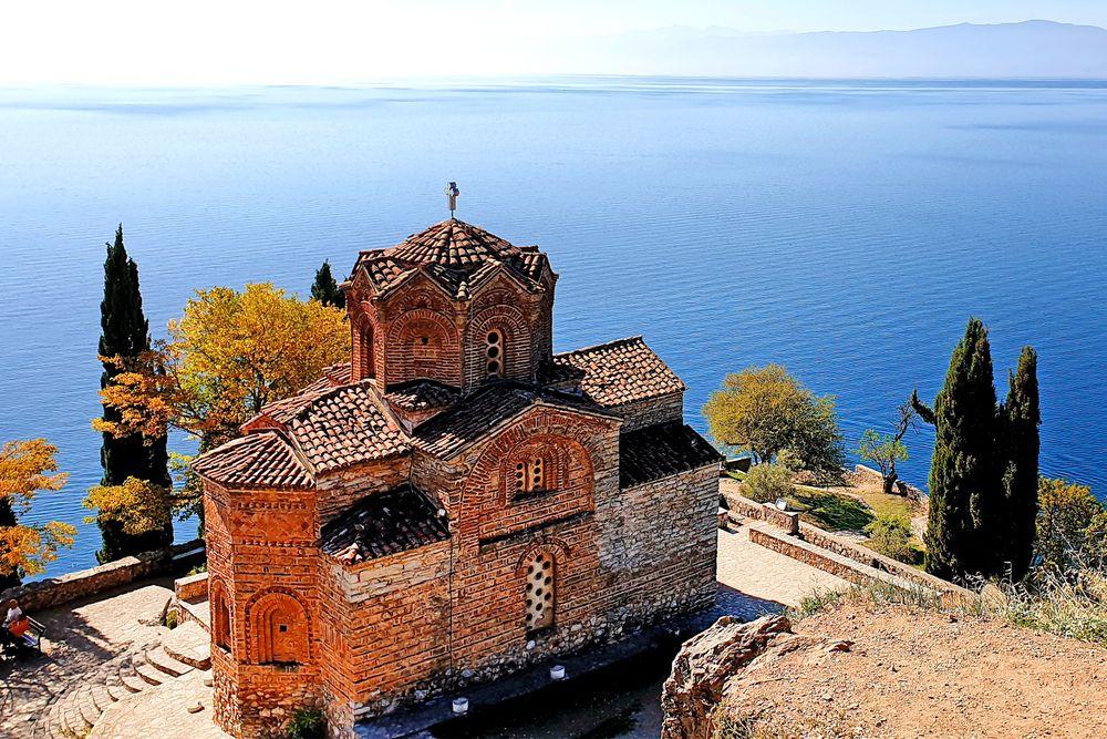 Kaleokirche am Ohridsee