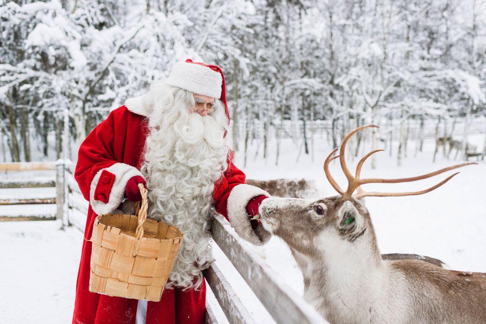 Weihnachtsmanndorf Rovaniemi