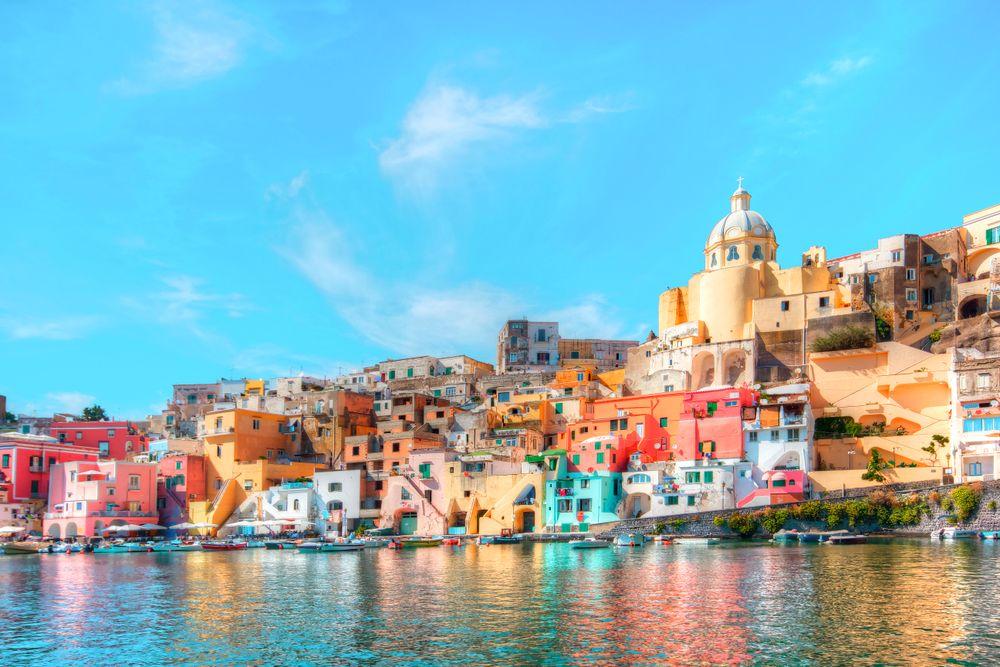 Procida, Golf von Neapel