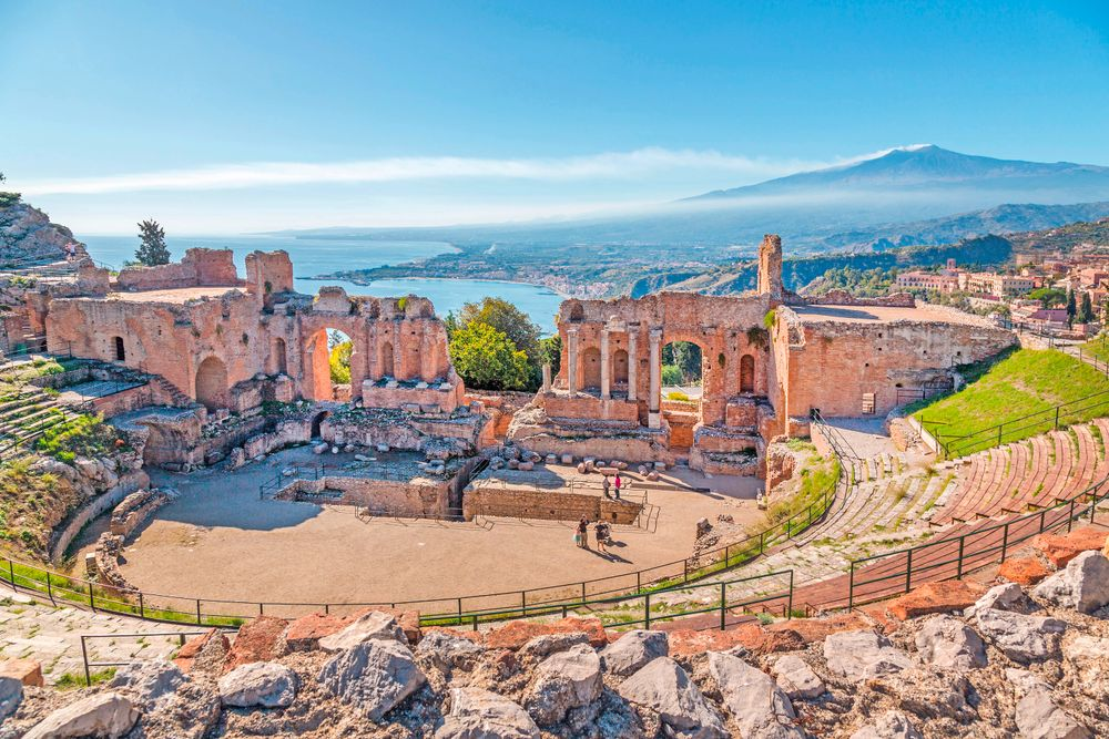 Griechisches Theater, Taormina