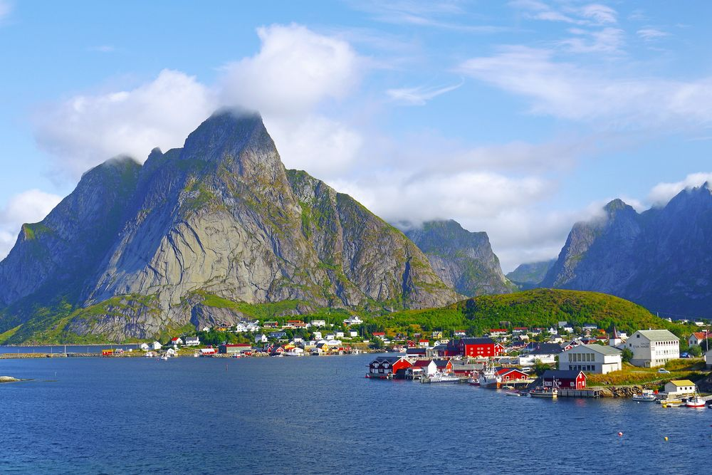 Insel Moskenes, Lofoten