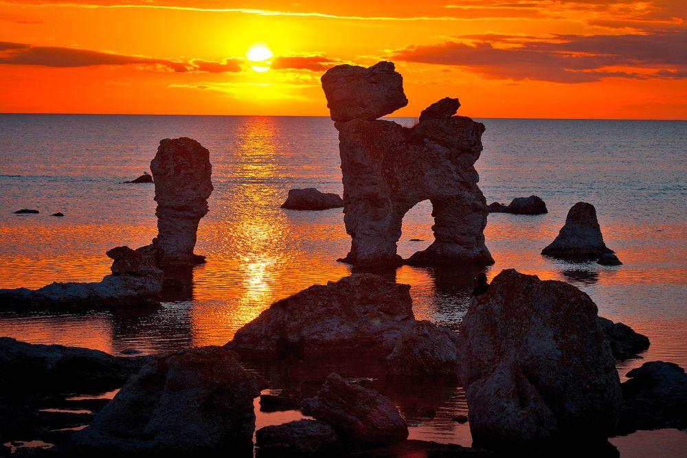 Insel Fårö bei Gotland