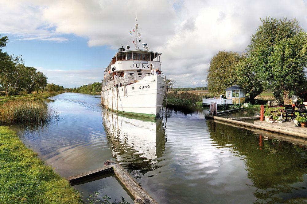 MS Juno, Göta Kanal