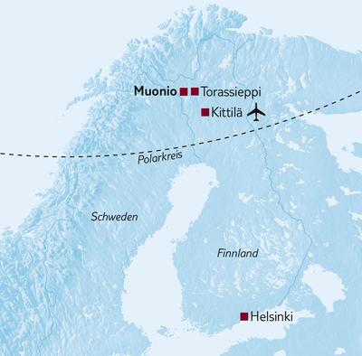 Aktivreise Arctic Adventure - Tour B