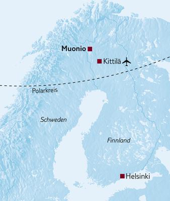 Aktivreise Im Bann des Nordlichts