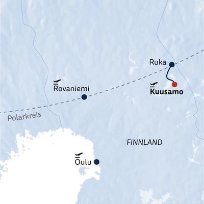 Aktivreise Ursprüngliches Finnland
