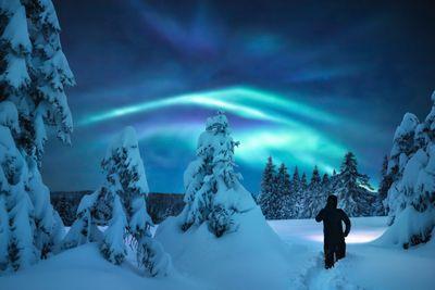 Aktivreise Unter dem Nordlichthimmel