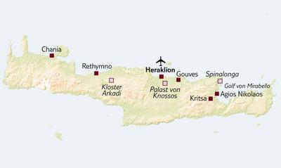 TUI Tours: Standortreise Erlebniswoche Kreta