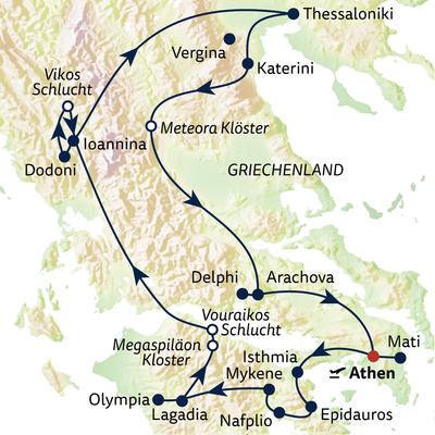 Busreise Griechenland umfassend erleben