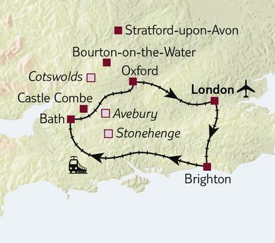 Bahnreise Per Bahn in Englands schönste Städte