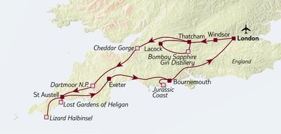 Busreise Kleingruppenreise Südengland