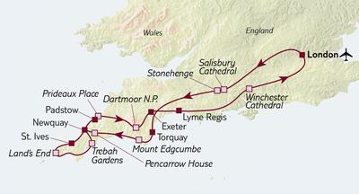 Busreise Rosamundes Cornwall