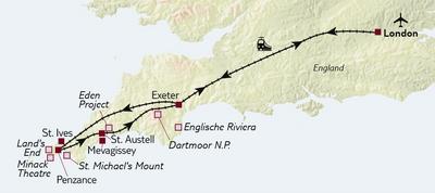 Bahnreise Nächster Halt: Cornwall