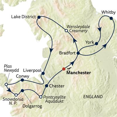 Busreise Nordengland & Wales kennenlernen