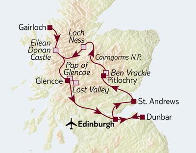 Bus-/Wanderreise Wanderrundreise Schottland 2020