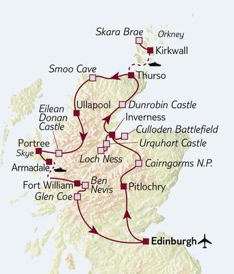 Autoreise Faszination Schottland