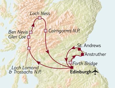 Standortreise Edinburgh & mehr