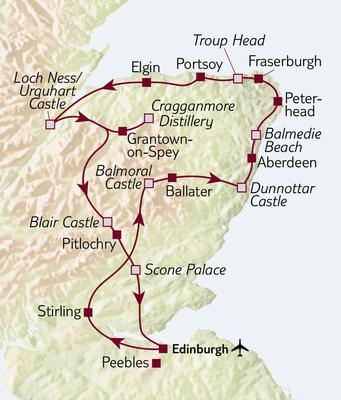Autoreise Schottlands Osten – Die North East 250