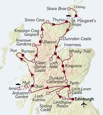 Busreise Schottland intensiv