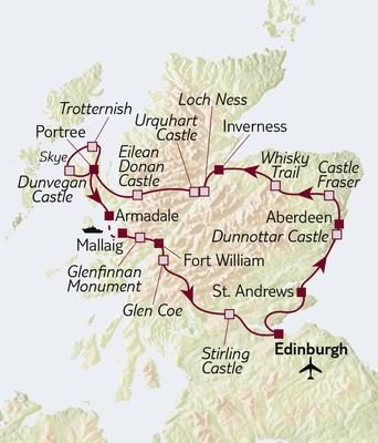 Autoreise Schottland - Mythen & Legenden