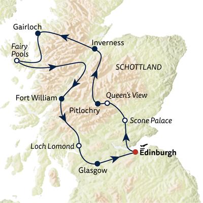 Busreise Kleingruppenreise Schottland