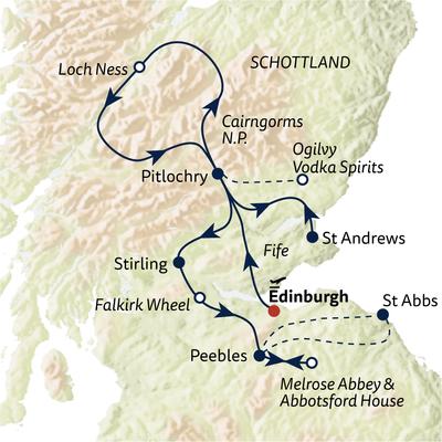 Busreise Schottland gemütlich