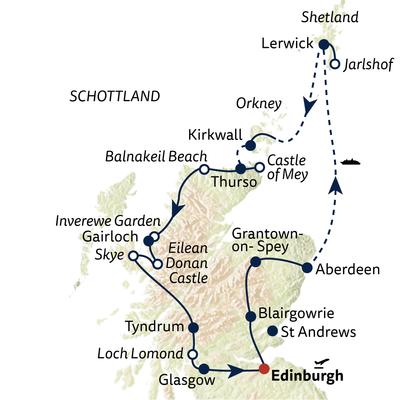 Busreise Große Schottlandreise