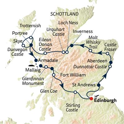 Autoreise Schottland – Mythen & Legenden - privat geführt