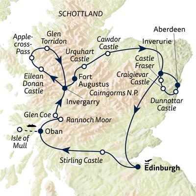 Autoreise Castles & Highlands