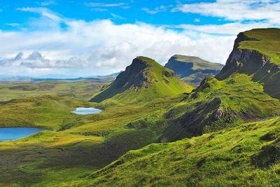 Autoreise Ferienhaus-Urlaub in den Highlands - Tour A