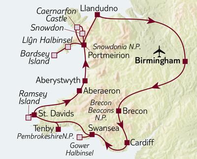 Autoreise Wales entspannt