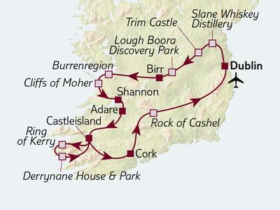 Busreise Irland kompakt
