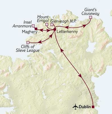 Aktivreise Irland - Wandern im Norden