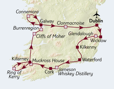 Autoreise Irland zum Kennenlernen