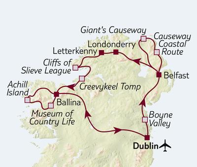 Busreise Nordirland kompakt