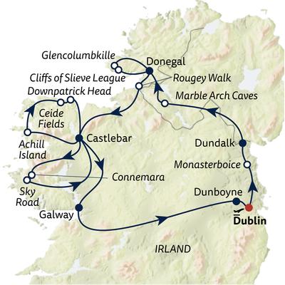 Autoreise Irlands Küstenzauber & Connemara
