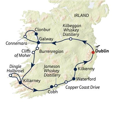 Autoreise Der Whiskey Irlands