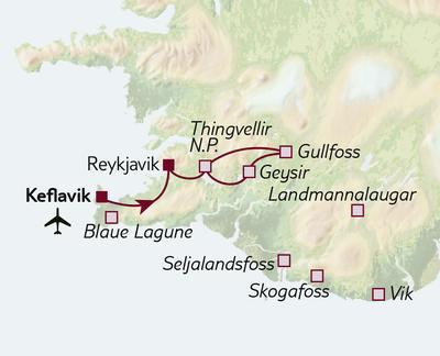 Standortreise Island für Einsteiger - Hotel Fron