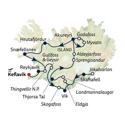 Busreise Island – einzigartiges Naturerlebnis