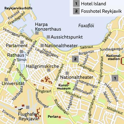 Standortreise Silvester in Reykjavik - Hotel Island