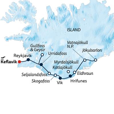 Kleingruppenreise Im Geländewagen durch Islands Winter