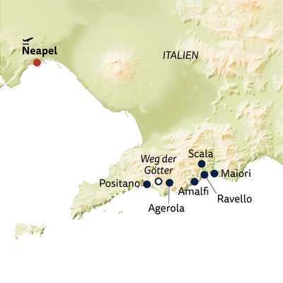 Wanderreise Wandern an der Amalfiküste