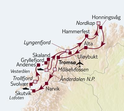 Autoreise Faszination Nordnorwegen
