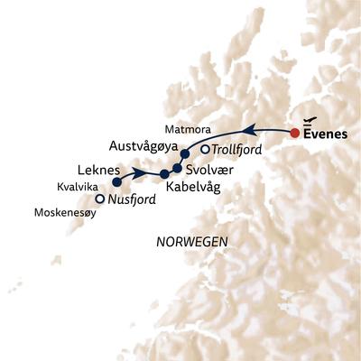 Wanderreise Lofoten – Inselparadiese erwandern