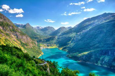 Autoreise Fjorde & Postschiffimpressionen