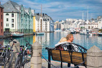 Havila Die klassische Postschiffroute Bergen - Kirkenes - Bergen mit Flug nach Bergen/von Bergen