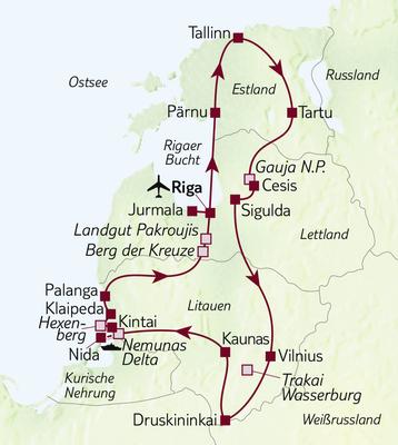 Busreise 16 Tage, 3 Länder, 1 Erlebnis