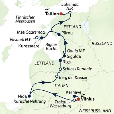 Wanderreise Drei-Länder-Wanderung