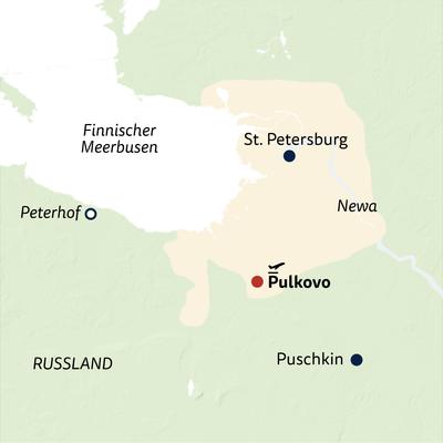 Standortreise St. Petersburg City Break