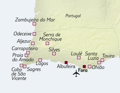 Busreise Portugals Algarve